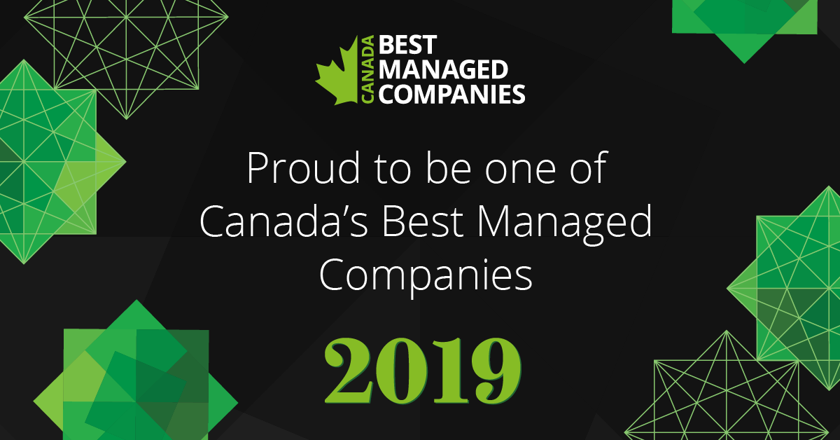 2019 Deloitte Canada's Best Managed Companies