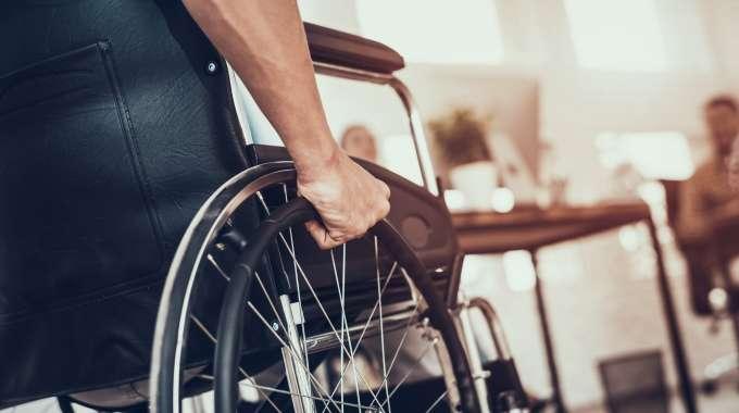 ODSP Man in Wheelchair