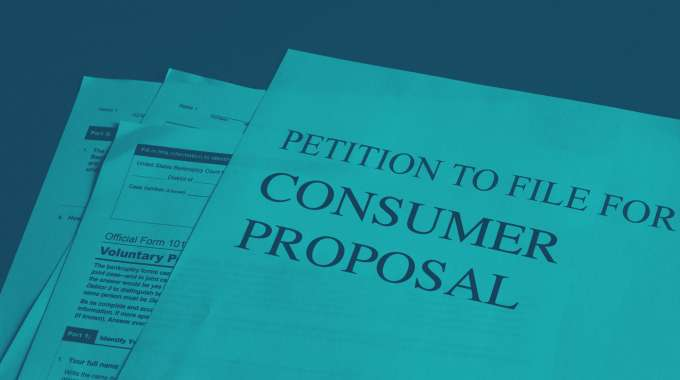 Consumer Proposal Documents