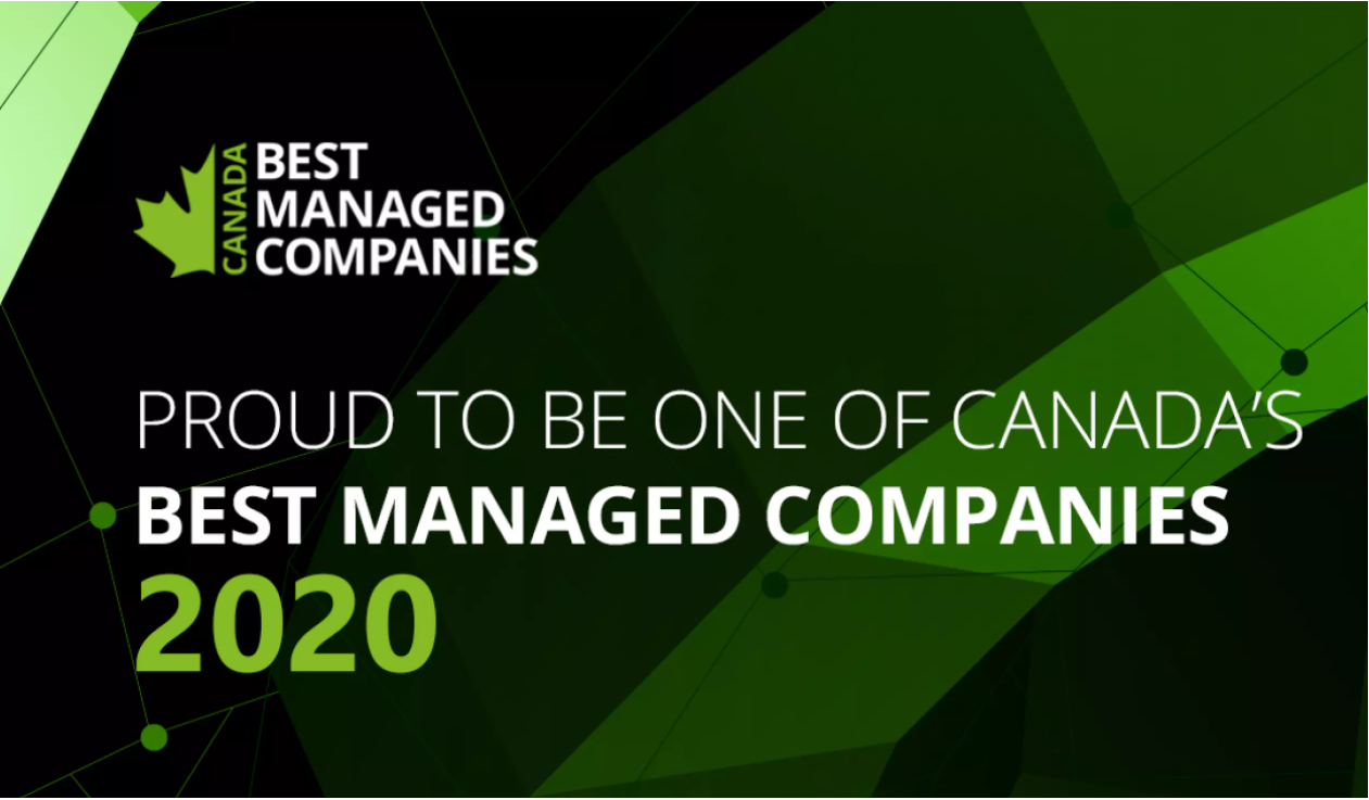 2020 Deloitte Canada's Best Managed Companies